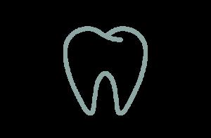 Ikon av frisk tand