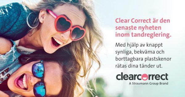 clear correct - för rätare tänder
